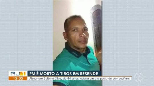 Policial é morto a tiros em posto de gasolina em Resende
