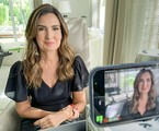Fátima Bernardes no 'Conversa com Bial' | TV Globo