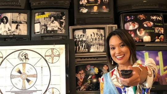 Cris Ikeda relembra momentos da televisão brasileira