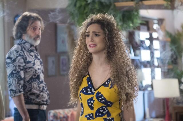 Isabelle Drummond em 'Verão 90' (Foto: Raquel Cunha/TV Globo)