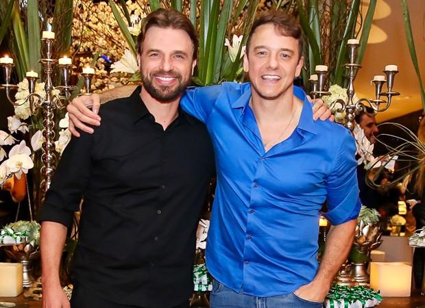 Cássio Reis e Rogério Padovan (Foto: Manuela Scarpa/Brazil News)