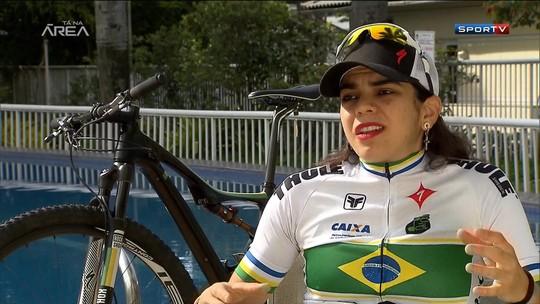 Perto da vaga, Raiza Goulão treina para representar o Brasil no mountain bike no Rio 2016