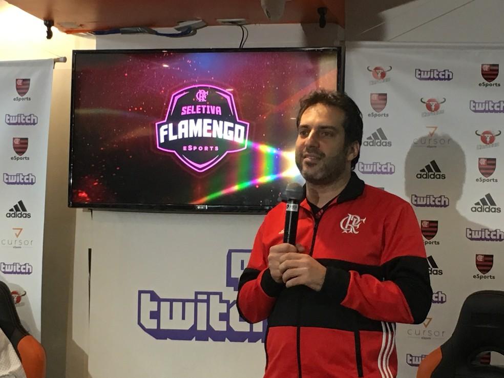 Daniel Orlean; seletiva; Flamengo; LoL (Foto: Matheus Tibúrcio)