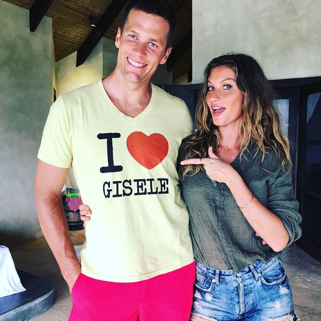 Tom Brady e Gisele (Foto: Reprodução Instagram)