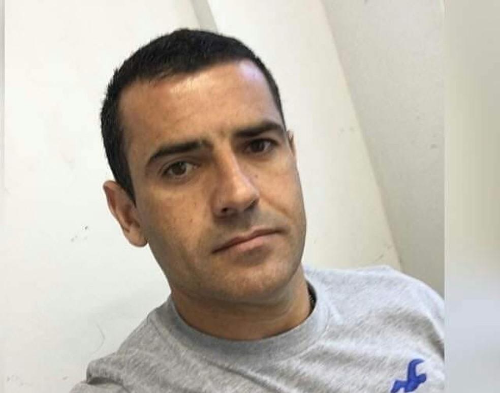 Alessando Gomes Ferrari, policial civil, é morto a tiros em Cariacica. — Foto: Arquivo pessoal