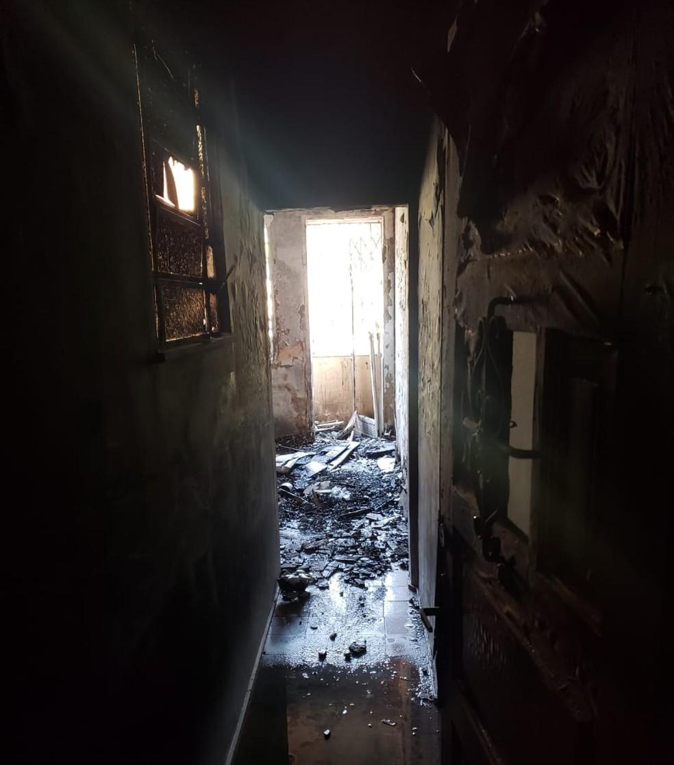 A família havia se mudado há poucos meses para o apartamento â?? Foto: Lívia Torres/TV Globo