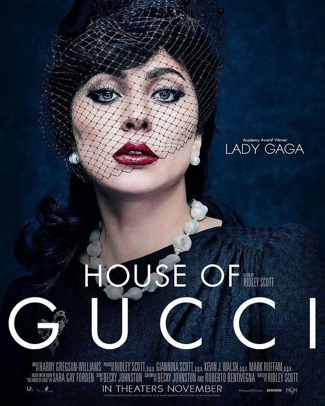 Lady Gaga revela post de 'House Of Gucci' (Foto: Instagram/ Reprodução)