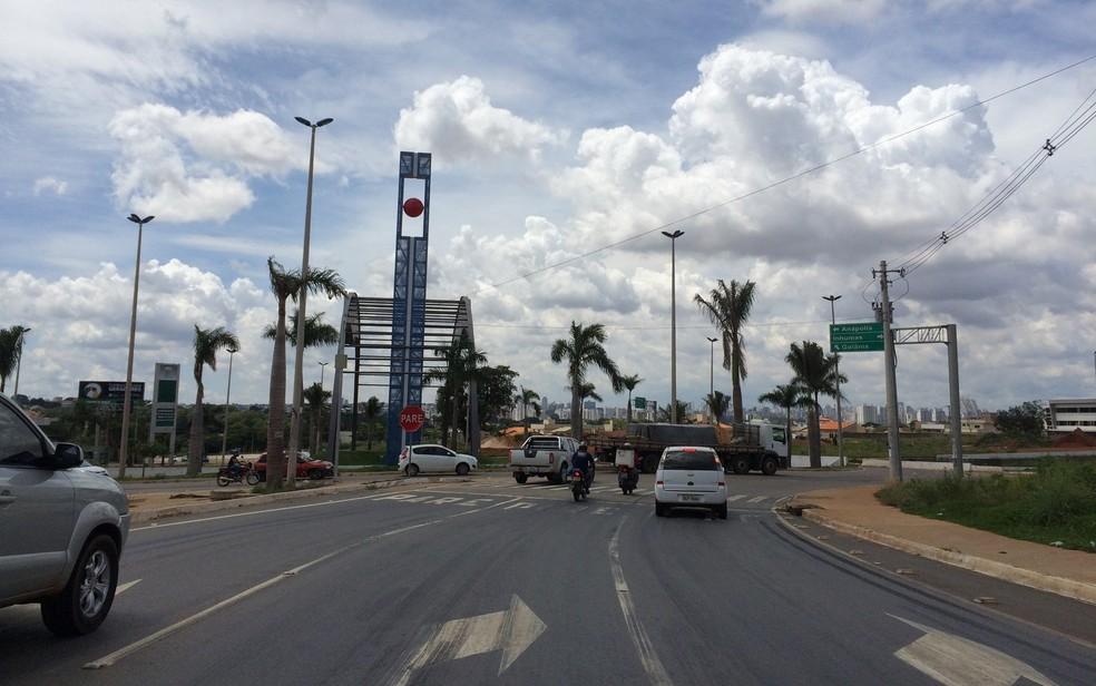 GO-080 está entre rodovias que serão terceirizadas em Goiás (Foto: Vitor Santana/G1)