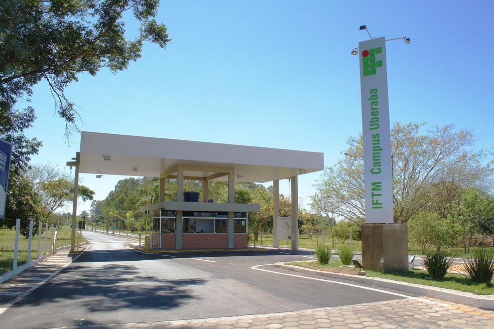 Campus Uberaba do Instituto Federal do Triângulo Mineiro   — Foto: IFTM/Divulgação