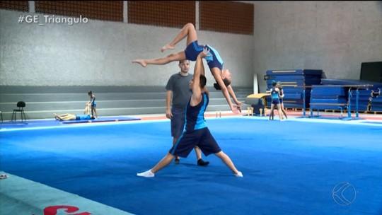 Ginastas de Uberaba disputam 1ª competição internacional como dupla no México