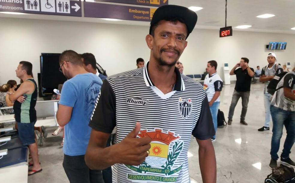 Bambu, goleiro do Atlético-ES (Foto: Sidney Magno Novo/GloboEsporte.com)
