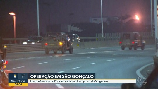 5 são presos em operação das Forças Armadas em São Gonçalo
