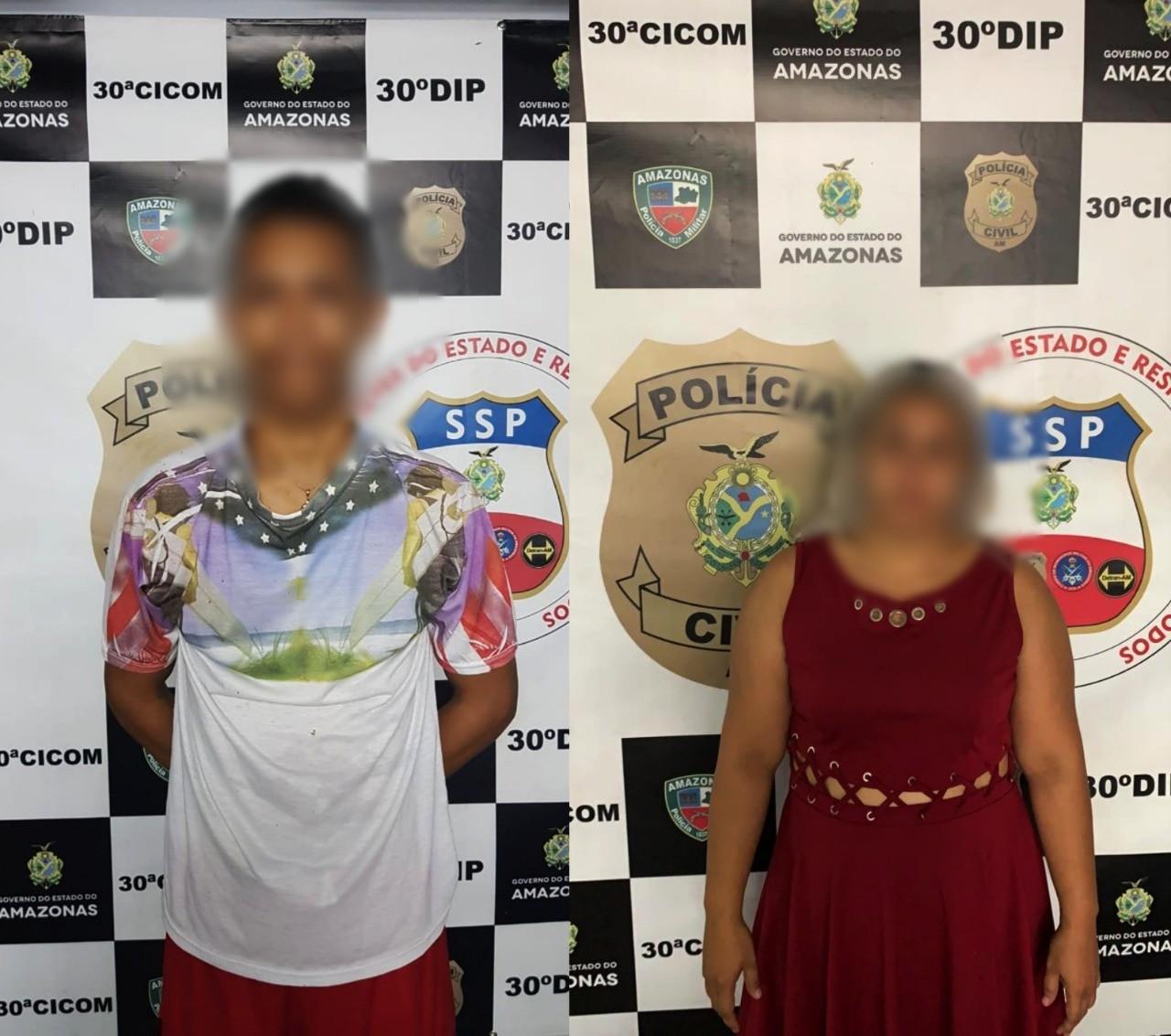 Dupla de foragidos da Justiça do AM é presa na Zona Leste de Manaus - Noticias