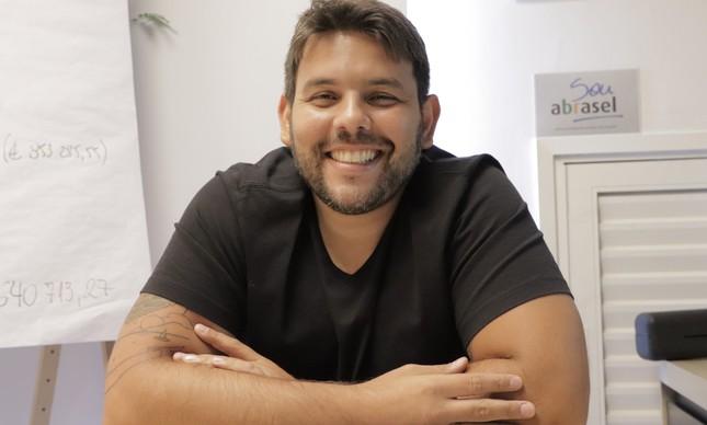 O CEO do Grupo Rão, Guilherme Lemos
