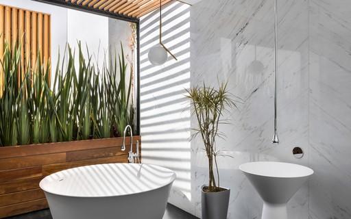 Saiba como ter um banheiro com ares de spa em casa