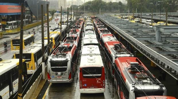 Ônibus, São Paulo, transporte público, coletivo (Foto: Reprodução/Agência Brasil)