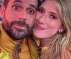 Dani Calabresa e o noivo, Richard Neuman | Reprodução