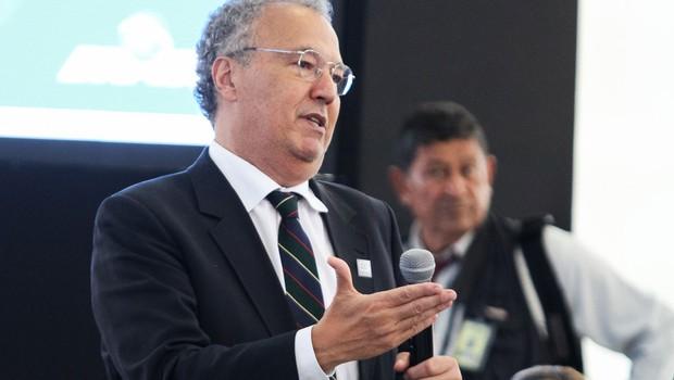O publicitário Nizan Guanaes fala durante reunião do Conselho de Desenvolvimento Econômico Social (CDES) (Foto: Alan Santos/PR)