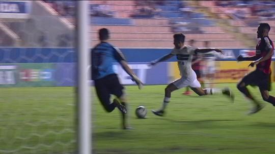 Os gols de Oeste 1 x 1 Coritiba pela 4ª rodada da série B no Brasileirão