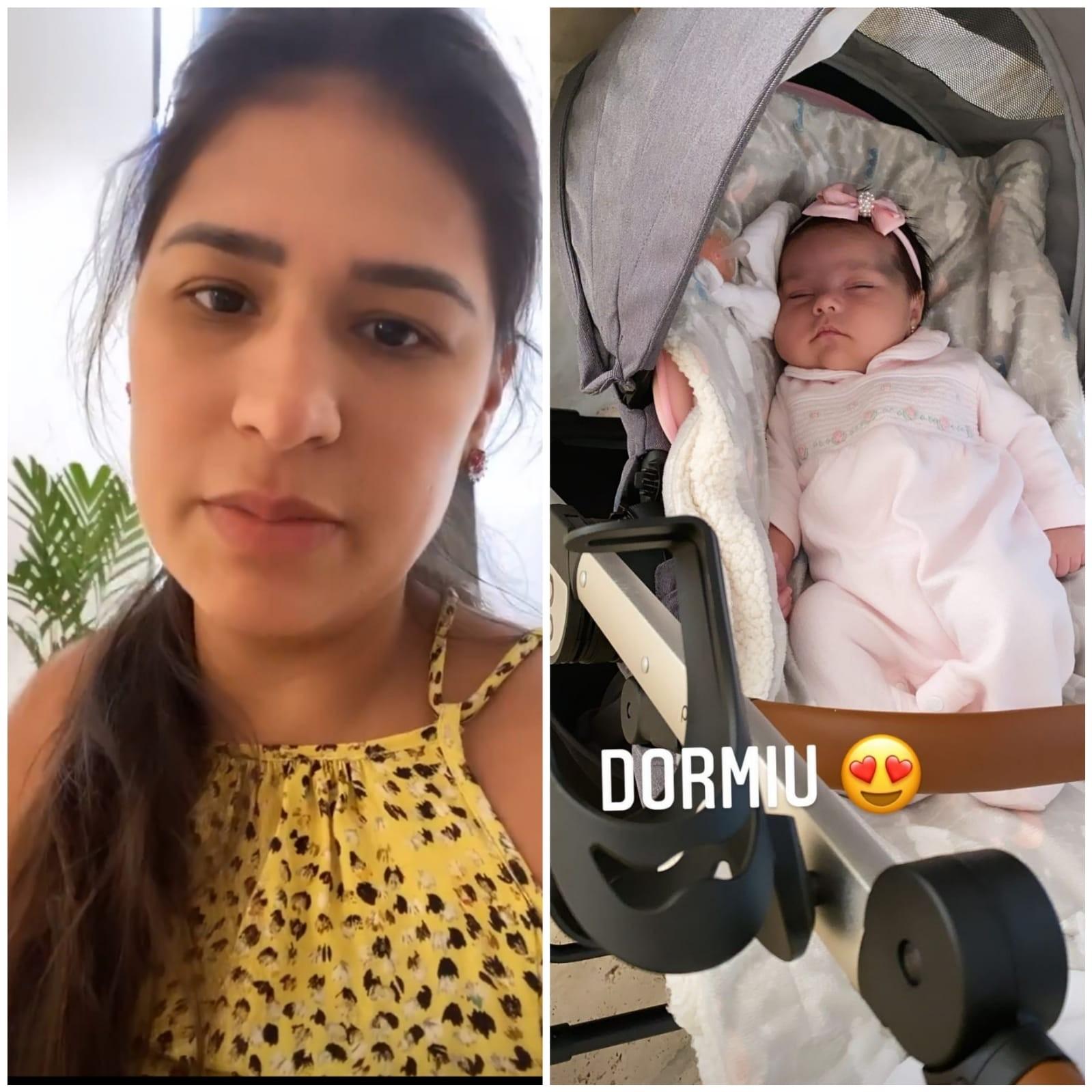 Simone diz que não tem leite para a filha Zaya (Foto: Reprodução/Instagram)