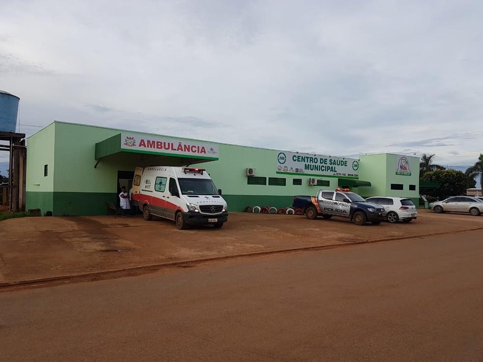 Médica atua em posto de saúde de Nova Ubiratã — Foto: Prefeitura de Nova Ubiratã-MT/ Assessoria