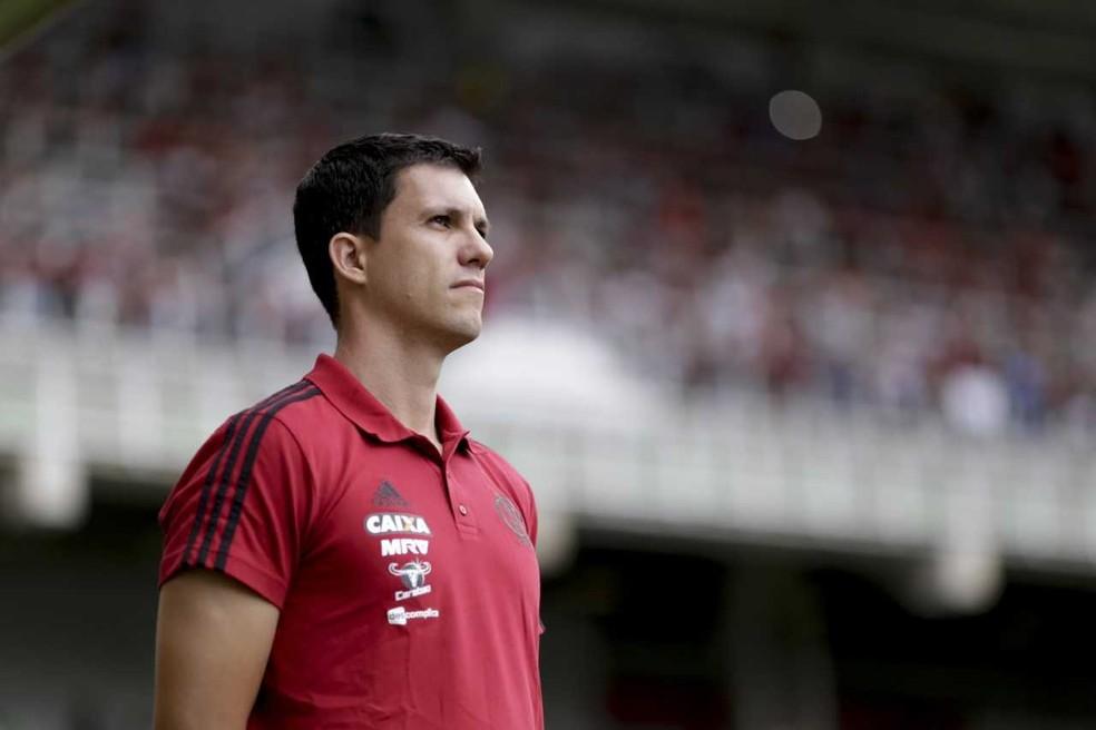 Barbieri chega pressionado à partida desta quarta-feira (Foto: Staff Images / Flamengo)