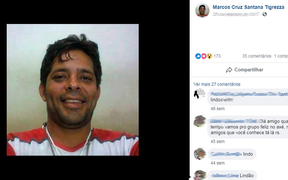 Ativista LGBT foi achado morto na madrugada do dia 18 de julho, em Itororó (Foto: Reprodução/Facebook)