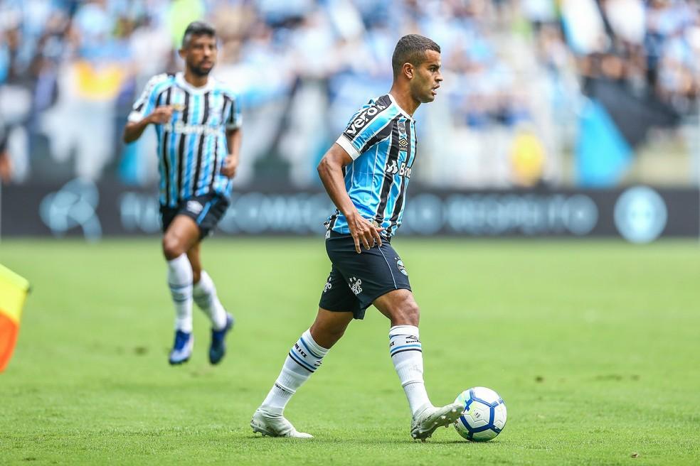 Alisson começou como titular no último jogo do ano — Foto: Lucas Uebel/Grêmio/Divulgação