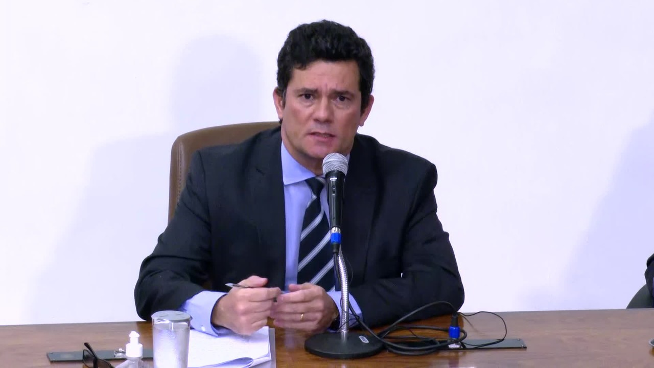 'Falei ao presidente que seria uma interferência política', diz Moro