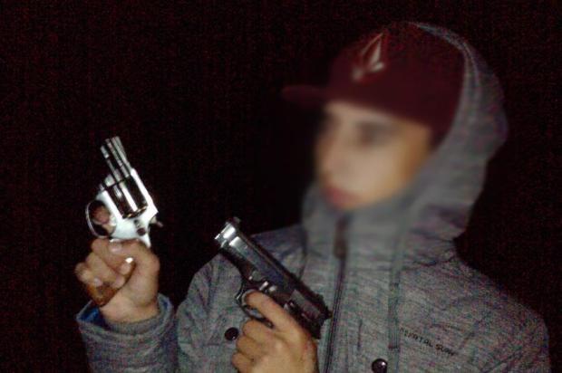 Adolescente usado por traficante (Foto: Polícia Civil RS / Divulgação)