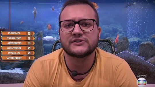 Oitavo Paredão: Diego vota em Breno