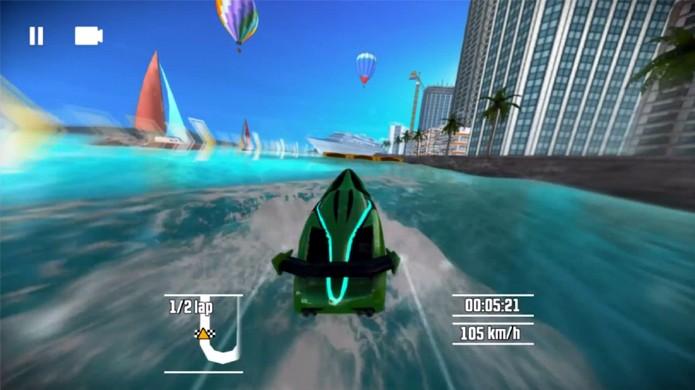 Driver: Speedboat Paradise se distancia bastante das clássicas perseguições de carro da série (Foto: Reprodução: YouTube)