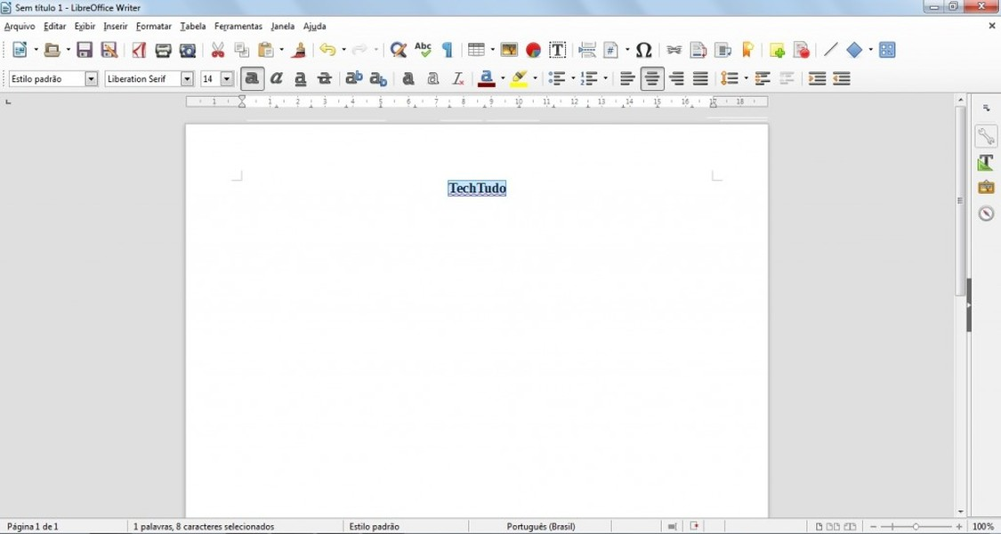 LibreOffice | Download | TechTudo
