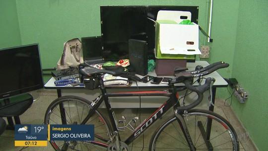 Quadrilha suspeita de usar máscaras para furtar casas em Brodowski, SP, é detida