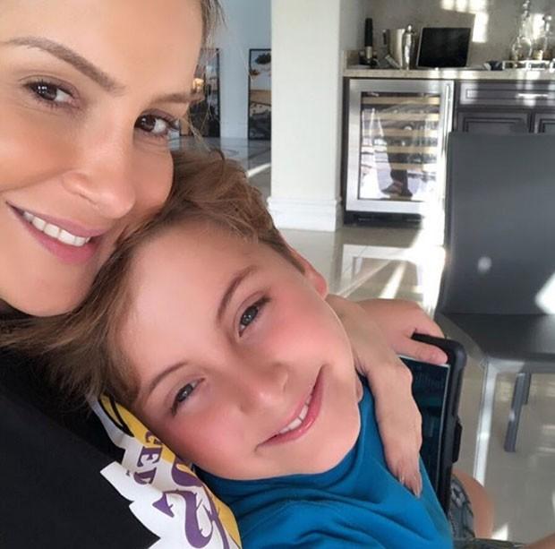 Claudia Leitte e Davi (Foto: Reprodução Instagram)