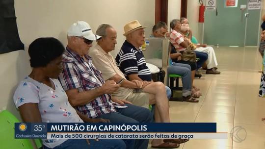 Cirurgias gratuitas de cataratas serão feitas em cidades do Triângulo Mineiro