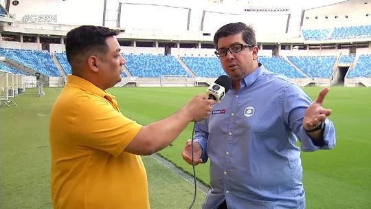 Freire Neto narra final do Super Matutão na Inter TV Cabugi e no GloboEsporte.com