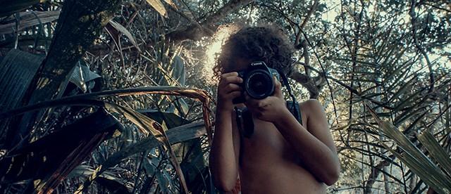 Cauê fotografando em Ubatuba /  unschooling (Foto: Cauê fotografando em Ubatuba /  unschooling (Foto: Arquivo pessoal))