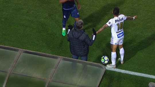 Após discussão, Gabigol, do Santos, diz que Renato Gaúcho o chamou para jogar no Grêmio