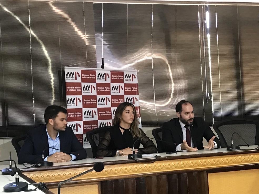 Força-tarefa do MP oferece 12º denúncia contra João de Deus — Foto: Guilherme Rodrigues/TV Anhanguera