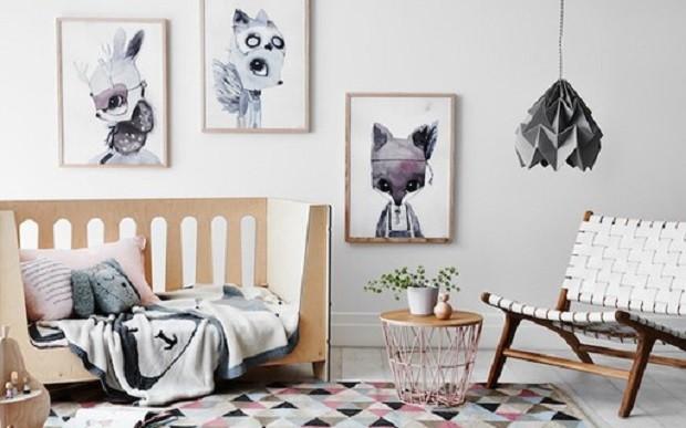 6 quartos com decoração escandinava para inspirar (Foto: Reprodução)