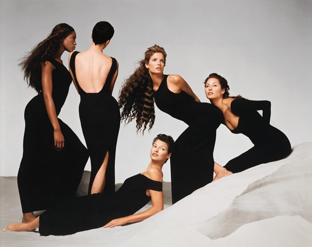 Stephanie Seymour, Versace spring/summer 1993 campaign, New York, November 1992 (Foto: © 2014 The Richard Avedon Foundation. Courtesy Gagosian Gallery.)
