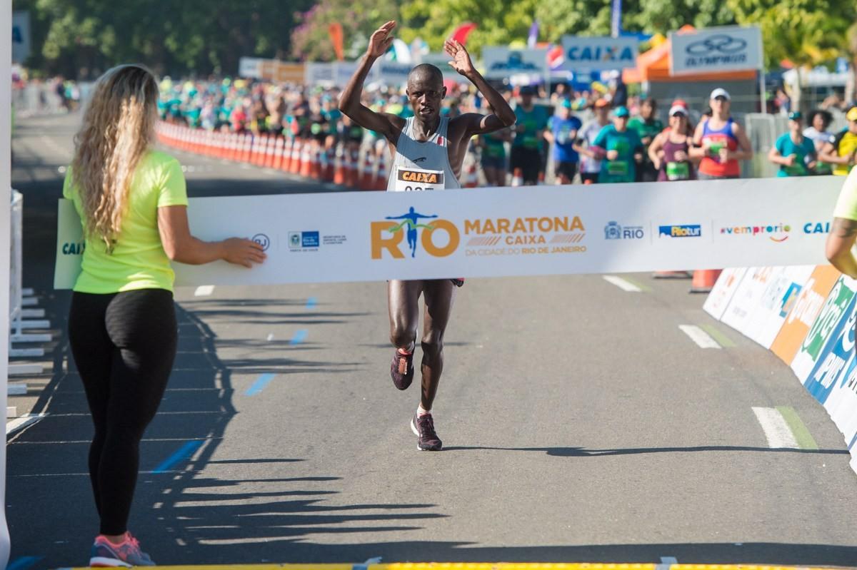 Vencedor em 2017 foi o queniano Godfrey Kipkosgey Kosgey