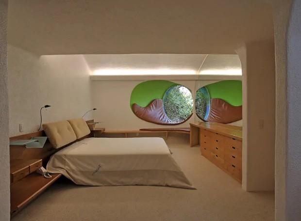Casa no México tem formato de cobra e pode ser alugada (Foto: Airbnb/Divulgação)