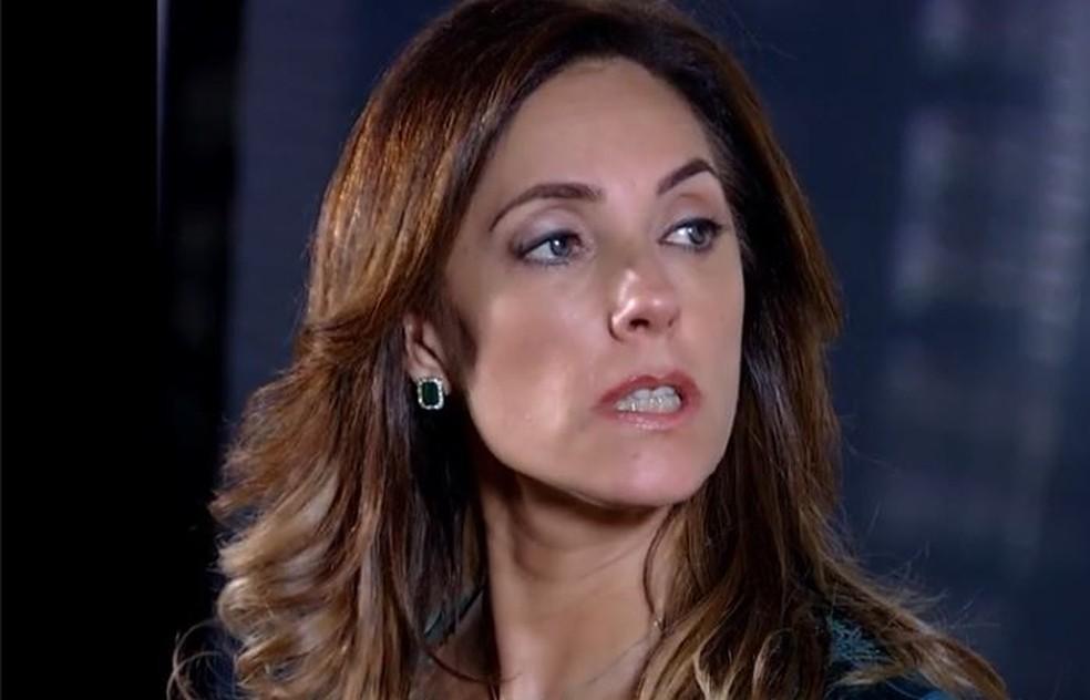 Tereza Cristina revela plano para destruir René e Griselda em 'Fina Estampa' — Foto: Globo