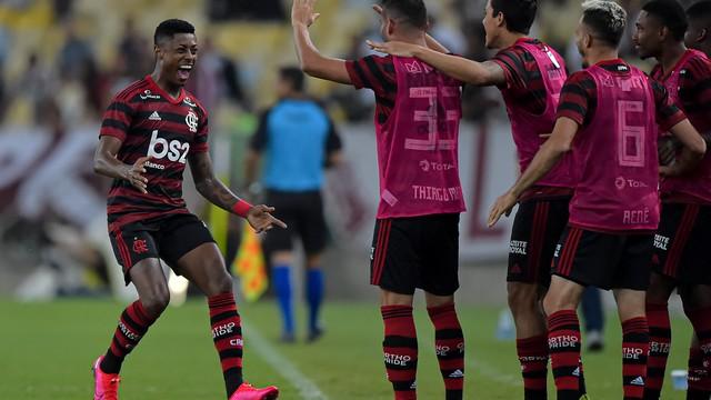 Bruno Henrique abriu o placar no Maracanã