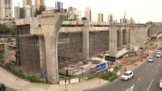 Governo de SP pega empréstimo de R$ 1,1 bilhão para obras do monotrilho da Linha 17-Ouro