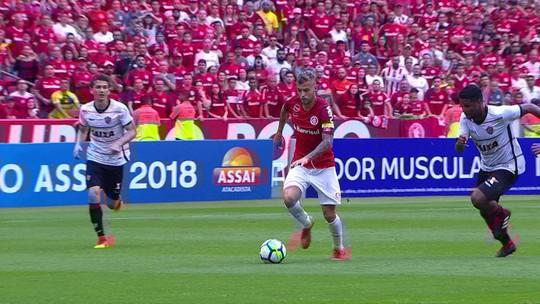Internacional x Vitória - Campeonato Brasileiro 2018 - globoesporte.com