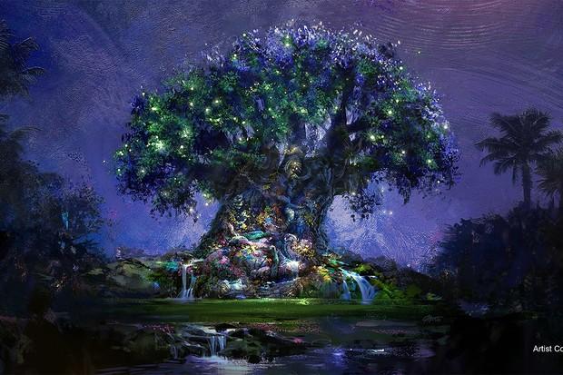 Símbolos de Magia: Disneys Animal Kingdom (Árvore da Vida) (Foto: Walt Disney World)