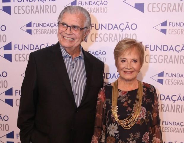 Tarcísio Meira e Glória Menezes (Foto: Daniel Pinheiro e Rogério Fidalgo/AgNews)